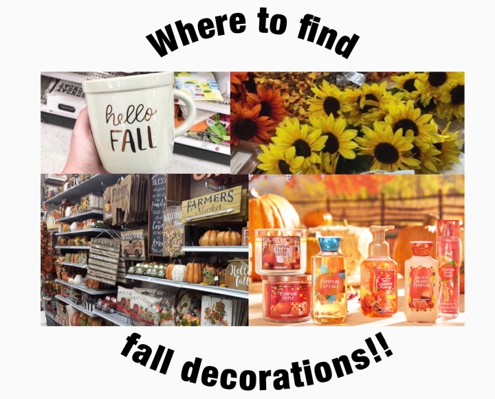Where to Find Fall Decorations For Cheap!!