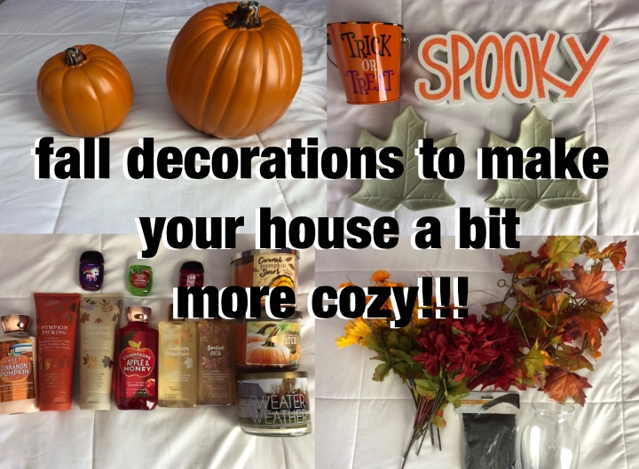 Fall Decorations to Make Your House a Bit More Cozy!