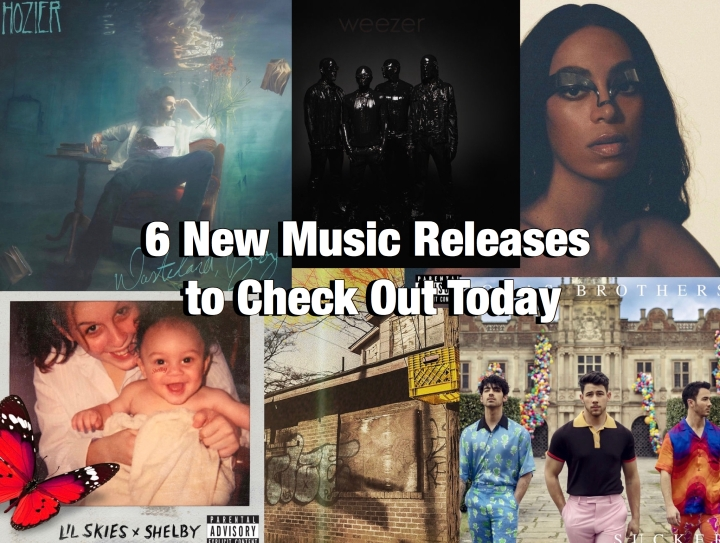 6 New Music Releases to Check Out Today.